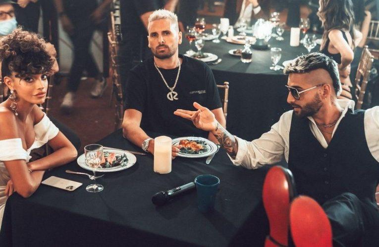 Scott Disick Takes Maluma's Lady in Singer's New 'Sobrio' Music Video