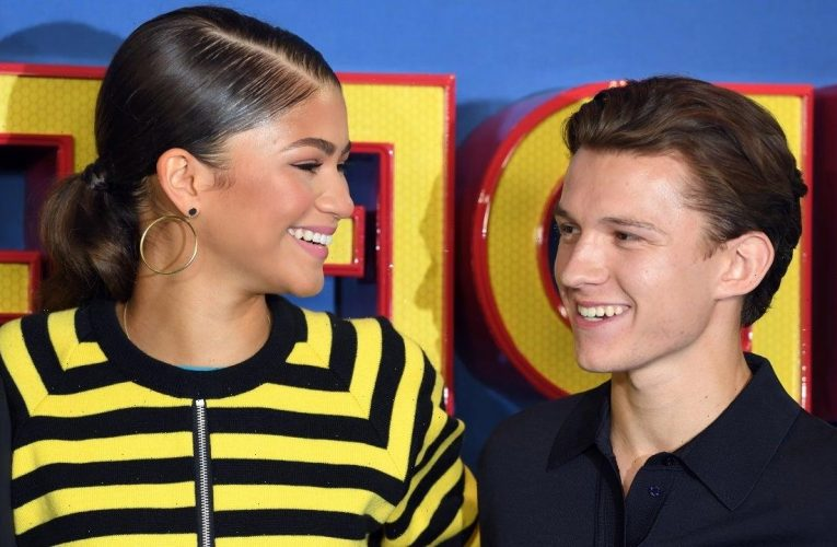 Tom Holland and Zendaya Spotted Kissing in Los Angeles