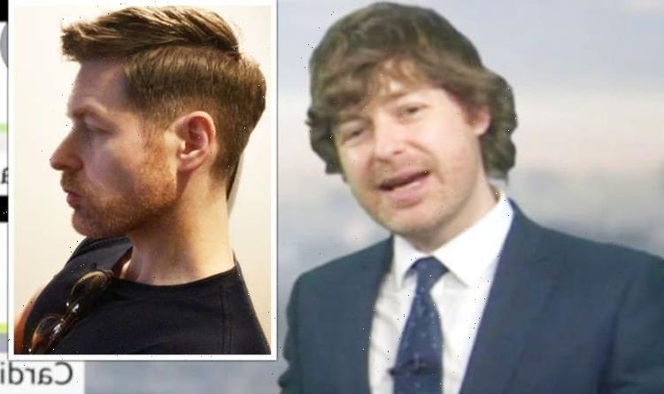 BBC Breakfasts Tomasz Schafernakers transformation after cutting 1970s porn star hair