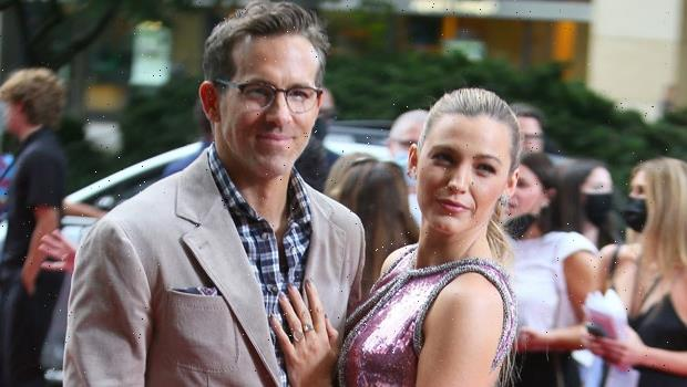 Blake Lively Rocks Pink & Silver Sequined Dress While Embracing Ryan Reynolds At Free Guy Premiere