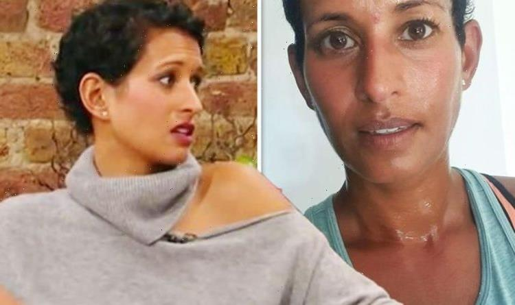 Couldnt bear it Naga Munchetty forced to take break as BBC host shares injury update