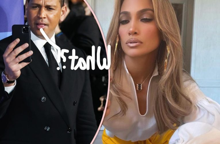 Jennifer Lopez Unfollows & Deletes Photos With Alex Rodriguez On Instagram 4 Months After Calling It Quits!