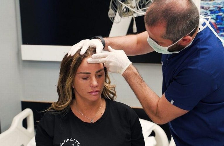 Katie Price shares footage of her being refused more surgery in Turkey