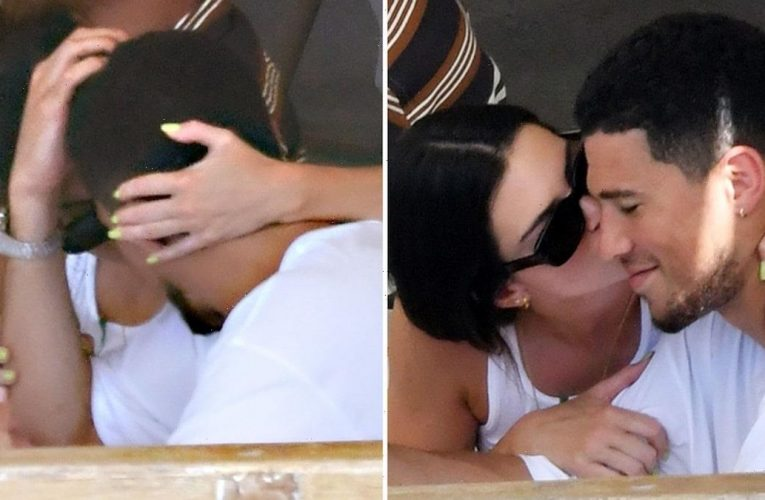 Kendall Jenner Gets Handsy, Kissy with Devin Booker on Date in Italy