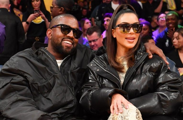 Kim Kardashian and Kanye West Reunite Amid Divorce: Pic