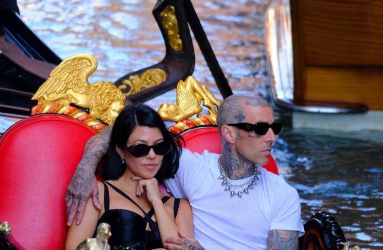 Kourtney Kardashian and Travis Barker go for a gondola ride, more celebrity pics for Aug. 30-Sept. 3, 2021