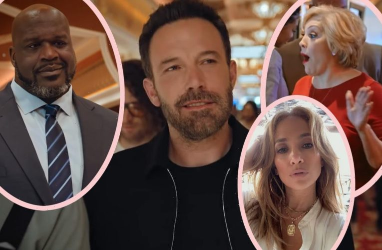So THIS Is What Ben Affleck & Jennifer Lopez's Mom Were Filming Together! Watch!