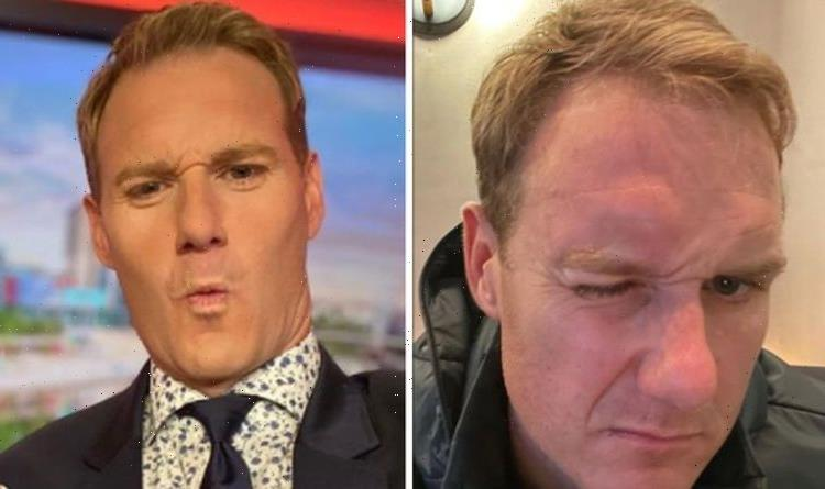 Done something stupid BBC Breakfasts Dan Walker suffers painful head injury from fall