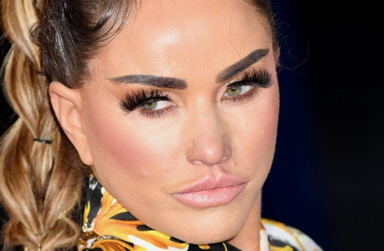 Katie Price defends relationship with fiancé Carl Woods following claims of single status