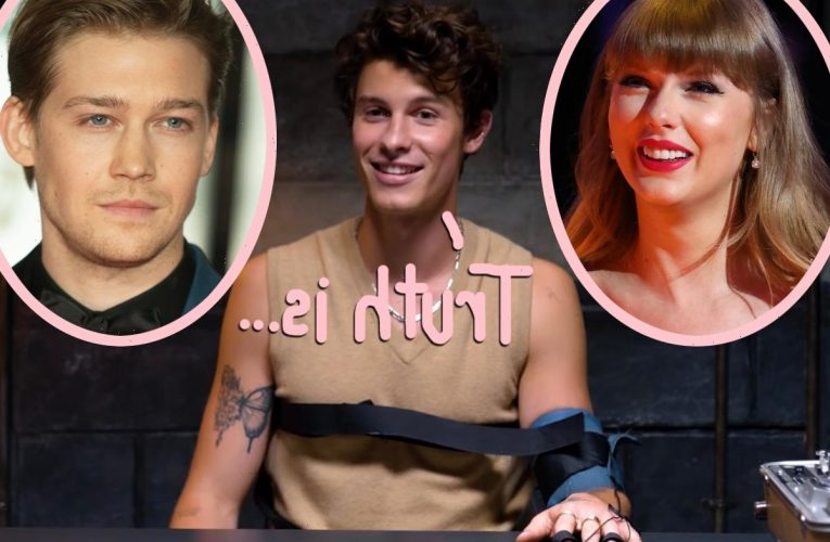 Shawn Mendes Being Forced To Reveal How He REALLY Feels About Taylor Swift's Boyfriend Joe Alwyn Is So Cringe! WATCH!