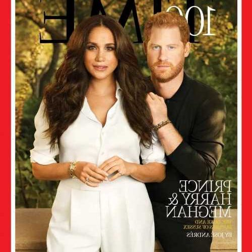 The Duke & Duchess of Sussex cover Times Most Influential People issue