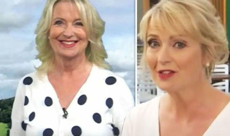 Didn't sleep in! Carol Kirkwood rushes to defend herself after running into trouble