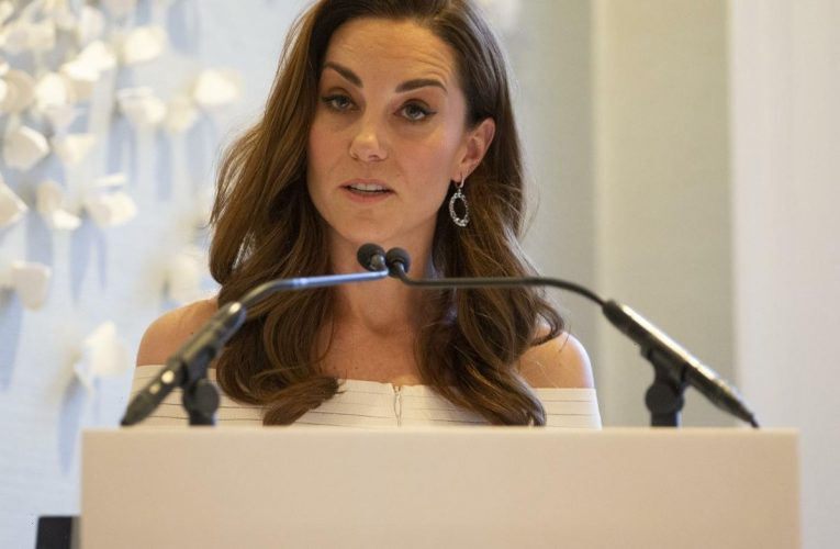 Duchess Kate will deliver a keynote speech at the Forward Trust next week