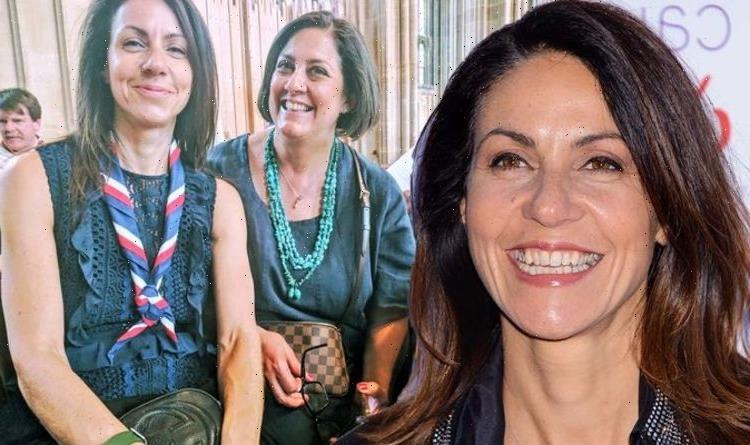 Julia Bradburys sister devastated that cancer struck healthy star Floods of tears