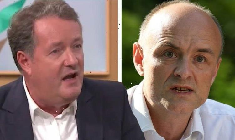 Piers Morgan branded a vain tool by Dominic Cummings amid bitter clash over GMB boycott