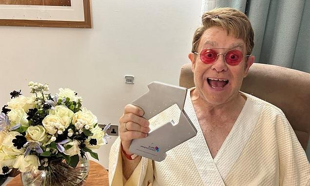 Sir Elton John tops UK charts for the first time in 16 years