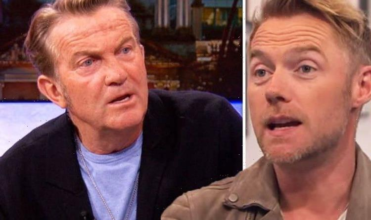 The One Shows Ronan Keating hits back as Bradley Walsh interrupts Do you want to host?