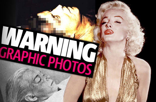 Autopsy photos of celebrities
