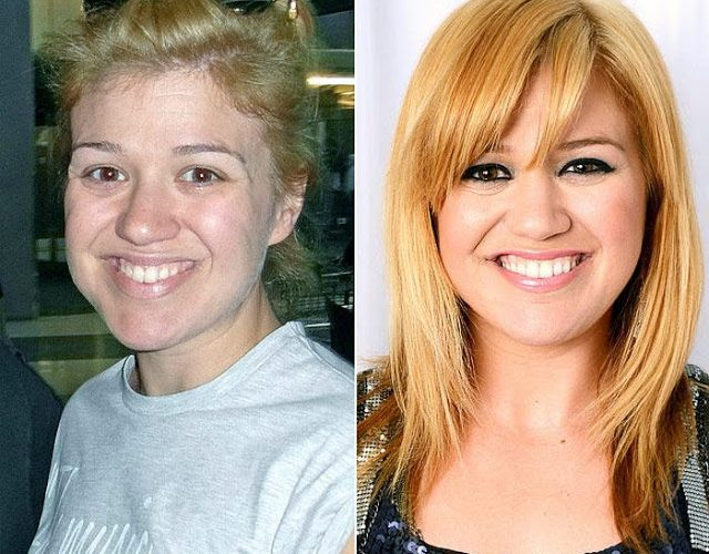 Here are some celebrities who are unrecognizable without makeup…