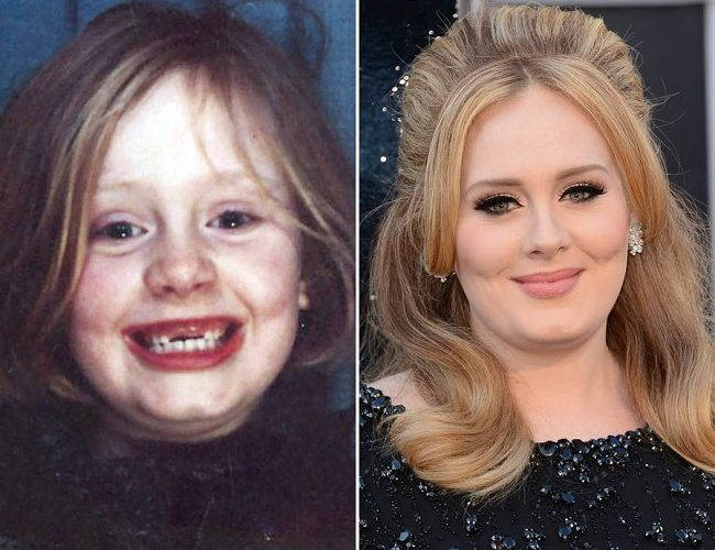 Celebrities as children
