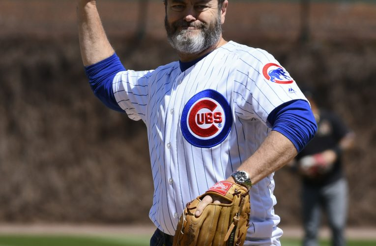 Celebrities at cubs games