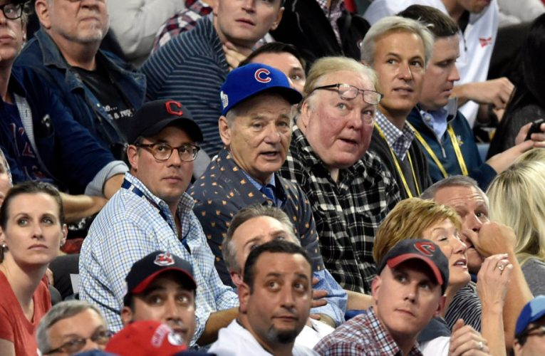 Celebrities at game 7