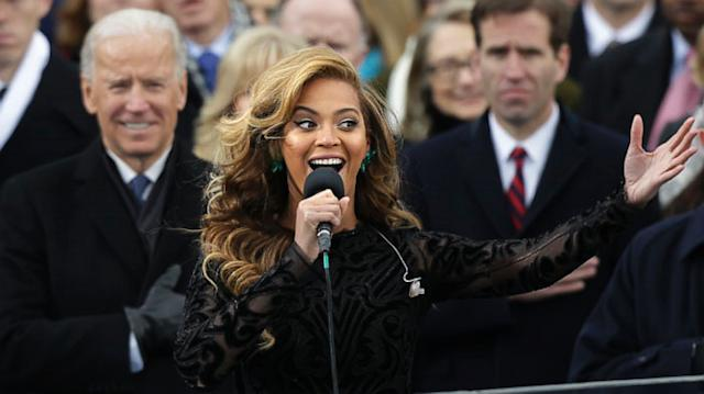 Celebrities at inauguration