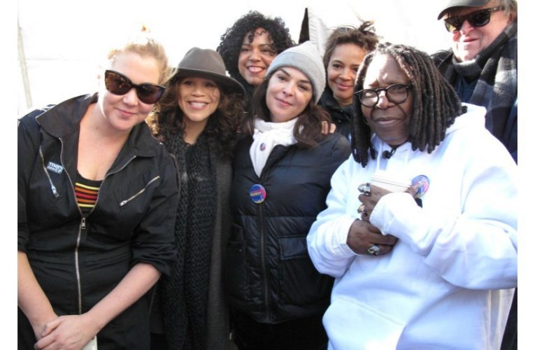 All the Celebrities Who Joined the 2018 Womens March…