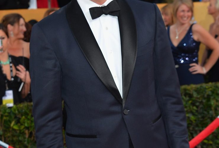 Celebrities in tuxedos