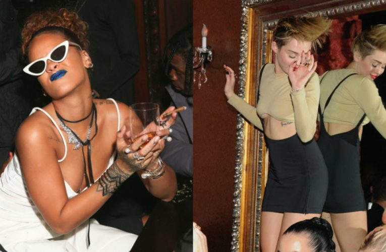 Photos Of Celebrities Partying In the 90s And Early 2000s…