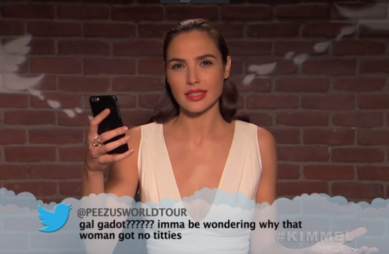 Celebrities read mean tweets 11