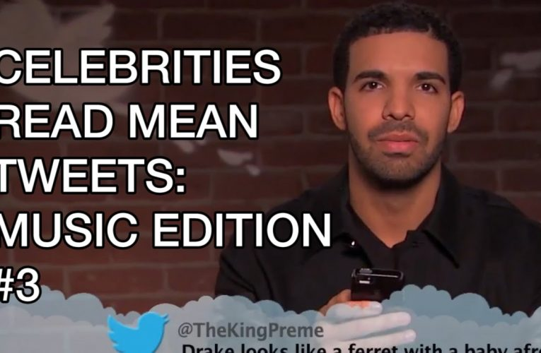 Celebrities read tweets