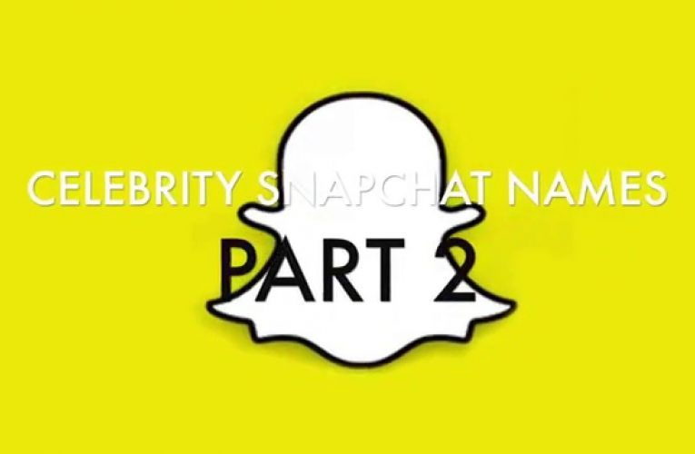 Celebrities You Should Be Following on Snapchat Right Now…