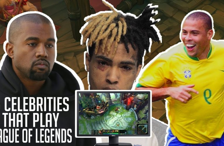 List of celebrities who play League of Legends, loosely …
