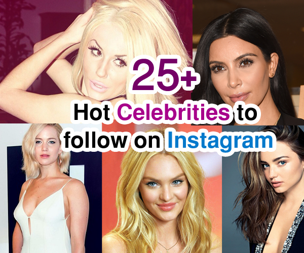 A roundup of the best celebrity Instagram accounts that you may not know…