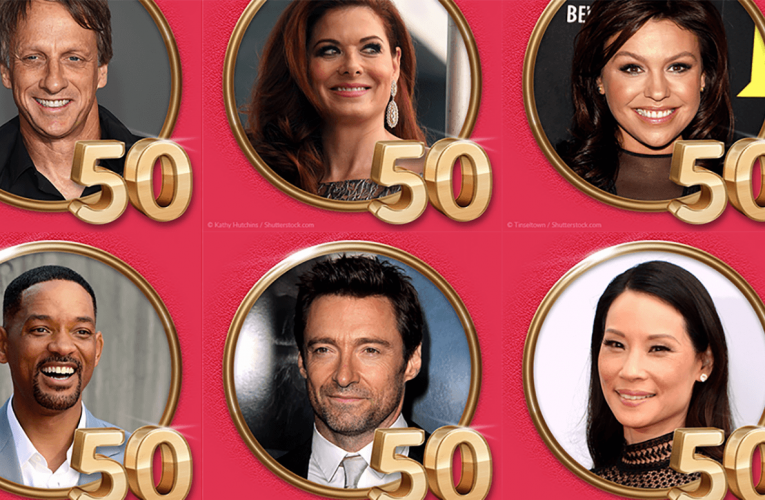 Celebrities turning 50 in 2018