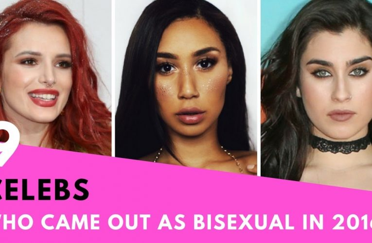 Celebrities who are bisexual