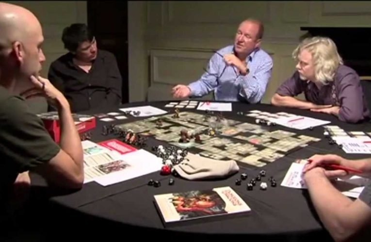 Celebrities who play d&d