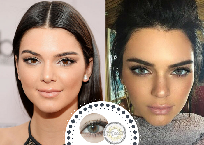 Celebrities who wear colored contacts