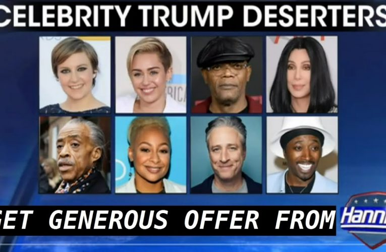 Celebrities who will move if trump wins