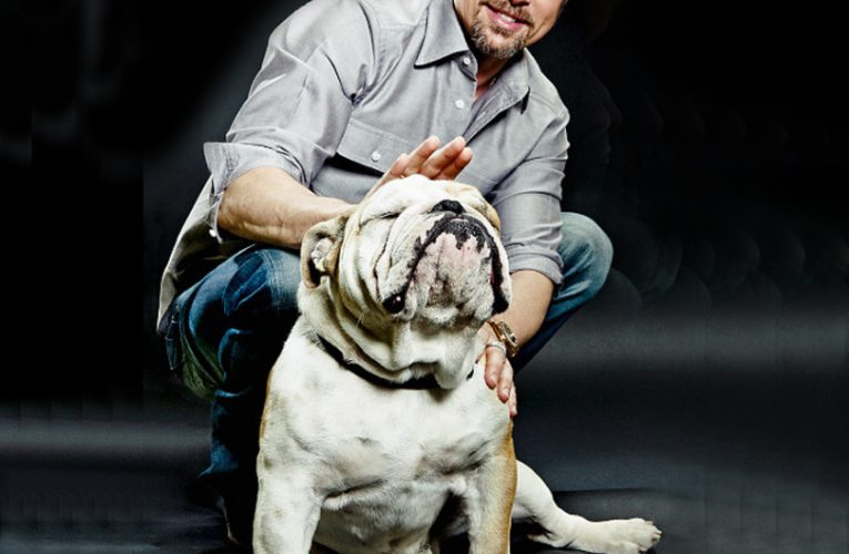 Celebrities with bulldogs