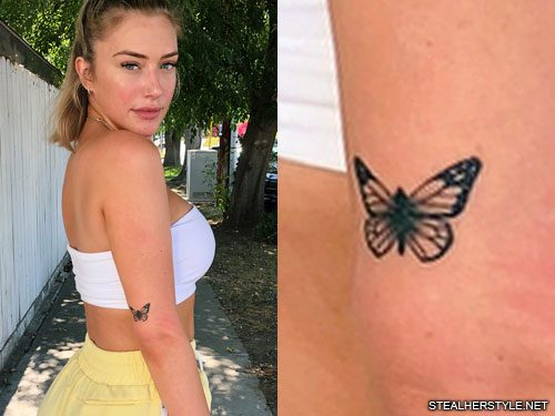 Celebrities with butterfly tattoos