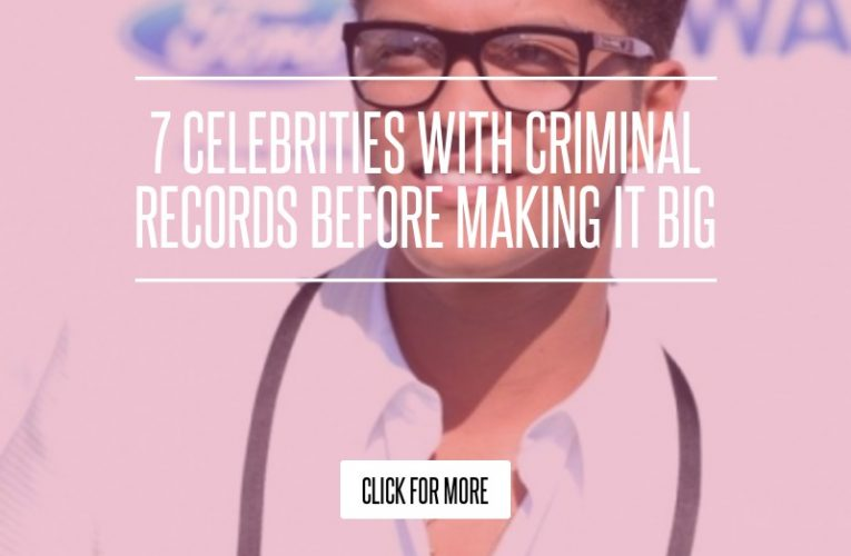 From drug possession and trafficking to assault and robbery, here are 25 Celebrities With …