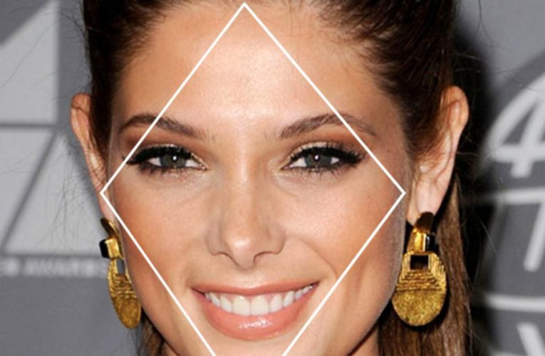Celebrities with diamond faces
