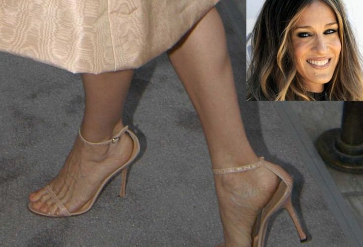 Celebrities with flat feet