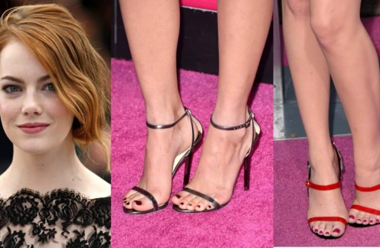 Celebrities with nice feet
