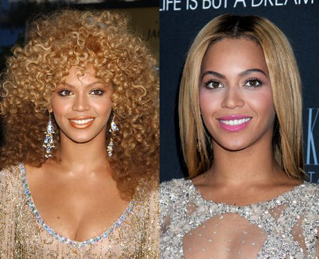 Celebrities with perms