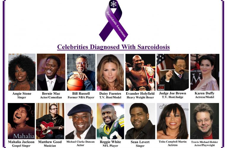 AuthorsHi, I know that unfortunately Bernie Mac died from sarcoidosis a few …