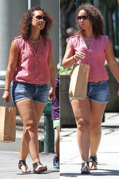 Celebrities with cellulite Cellulite Exercises, Cellulite Remedies, Hot Bikini…