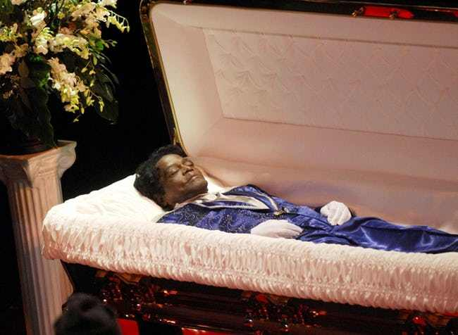 Many dead celebrities have chosen to have open casket funerals for a variety …